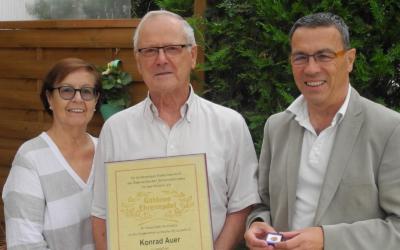 Konrad Auer feiert seinen 80. Geburtstag!
