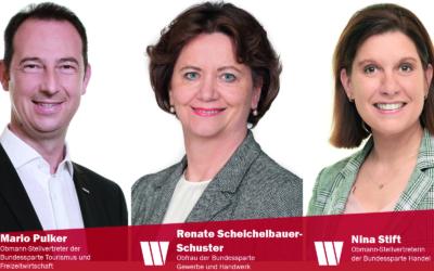 Niederösterreichische Wirtschaftsbund-Funktionäre in Spitzenpositionen der Wirtschaftskammer Österreich gewählt
