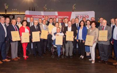 Wirtschaftsbund Niederösterreich ehrt zahlreiche verdiente Funktionäre