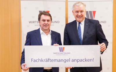 Eichtinger/Ecker: Gemeinsam Fachkräftemangel anpacken