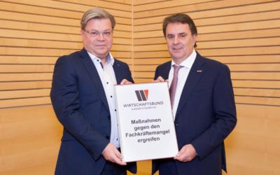 """Wirtschaftsbund NÖ-Ecker/Servus: """"Fachkräfteoffensive für den Standort Österreich"""""""
