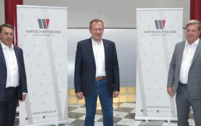 Jochen Flicker steht nun an Spitze der Sparte Gewerbe und Handwerk der Wirtschaftskammer Niederösterreich
