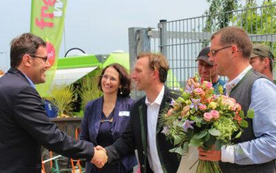 Eröffnung nach Betriebserweiterung bei Fa. Kreitl