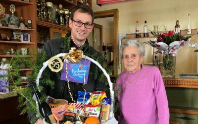 Paula Glanz aus Stölzles bei Hirschbach feierte ihren 95. Geburtstag