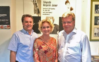 Wirtschaftsbund NÖ besuchte Fotografin Margarete Jarmer