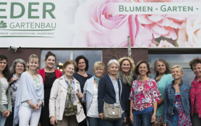 FiW Brunch bei Blumen Eder Horn