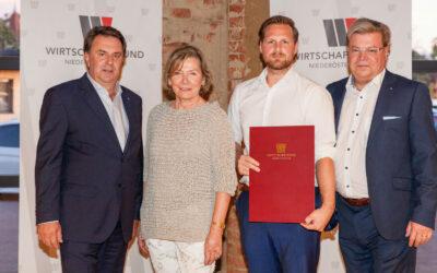 Horner Unternehmer beim Abschluss- und Absolvententreffen der Wirtschaftsbund-Kaderschmiede