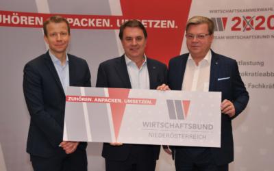 """WBNÖ Ecker/Servus: """"Betriebe schätzen Geschäftsaussichten 2020 deutlich weniger optimistisch ein. Probleme jetzt anpacken und Maßnahmen umsetzen."""""""