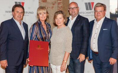 Klosterneuburger Unternehmer beim Abschluss- und Absolvententreffen der Wirtschaftsbund-Kaderschmiede