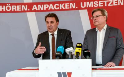 """Landesobmann Ecker und Direktor Servus fordern """"Kickstart für Konjunkturmotor"""""""