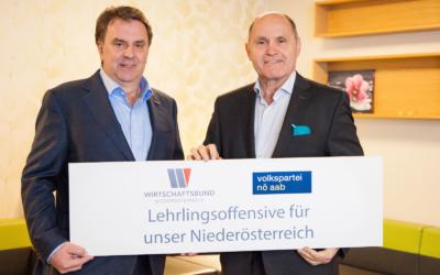 NÖAAB-Sobotka/WBNÖ-Ecker: Niederösterreich ist Nr. 1 bei Lehrlingszahlen