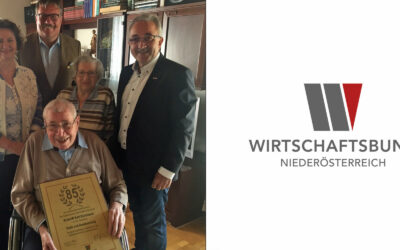 Karl Kurzbauer feiert seinen 85er