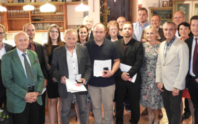 Firma Glaser feiert 60-jähriges Bestehen und ehrt seine MitarbeiterInnen