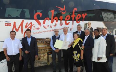 """80 Jahre Taxi Schiefer und neuer Geschäftsauftritt """"MySchiefer"""""""