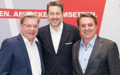 Der Wirtschaftsbund Niederösterreich gratuliert WKÖ Präsident Harald Mahrer zur Wiederwahl