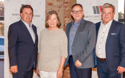 Gänserndorfer Unternehmer beim Abschluss- und Absolvententreffen der Wirtschaftsbund-Kaderschmiede