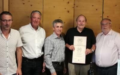 Hellmuth Breitsching feierte seinen 80. Geburtstag