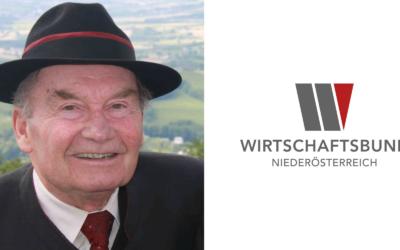 Ehemaliger WBNÖ-Spitzenfunktionär KommR Anton Nenning verstarb im 84. Lebensjahr