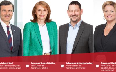 Wirtschaftsbund Niederösterreich nominierte neue Wirtschaftskammer-Spitzenfunktionäre