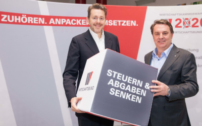 Mahrer/Ecker begrüßen Steuererleichterung für Arbeitszimmer und zweijährige Schonfrist bei Betriebsübergabe, Ecker bekräftigt Forderung nach Realisierung der S8