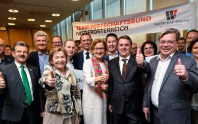 WK-Wahl: 77,59 % für den Wirtschaftsbund.