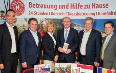 WBNÖ Zuhör-Tour in Schwechat  mit Othmar Karas