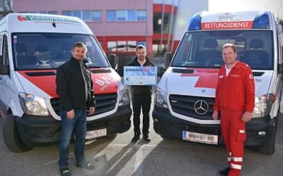 Großzügige Spende von BVB Baumaschinen GmbH