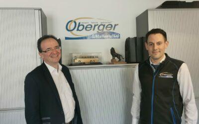 Obmann Oliver Eisenhöld zu Gast bei Christian Oberger