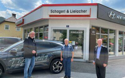 Besuch Schagerl & Lielacher