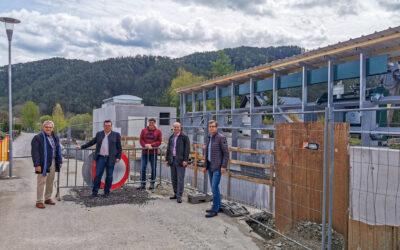 Besichtigung Hochwasserschutzmaßnahmen Türnitz