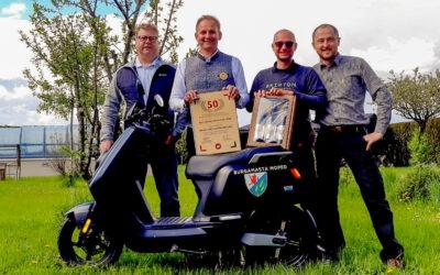 E-Moped zum 50. Geburtstag