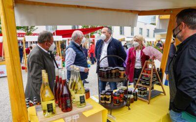 """Dritter """"Kleiner Genussmarkt"""" in Lanzenkirchen bestens besucht!"""