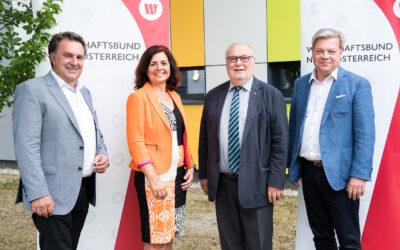 Wirtschaftsbund Neuwahlen im Bezirk Neunkirchen