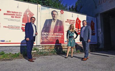 Wirtschaftsbund NÖ präsentiert neue Sommerkampagne #endlichwiederunternehmen