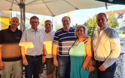 Team der Gemeindegruppe Felixdorf bei Wahl bestätigt