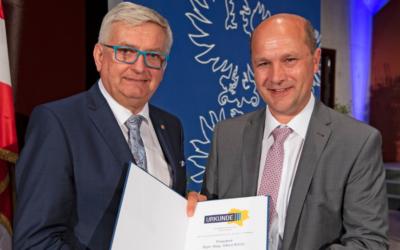 NÖ Gemeindebund-Wahl: Dank an Präsident Alfred Riedl