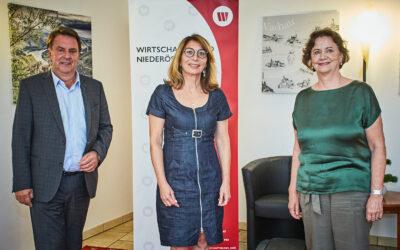 Neuwahlen im Bezirk Melk: Silvia Rupp zur neuen Wirtschaftsbund-Obfrau gewählt