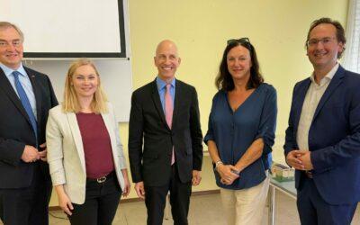 Unternehmertalk mit Arbeitsminister Martin Kocher