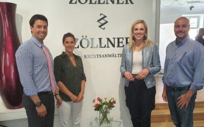 1 Jahr Zöllner & Zöllner Rechtsanwälte in Mödling