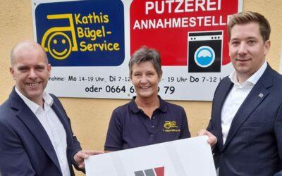 Kathis Bügelservice feiert Jubiläum