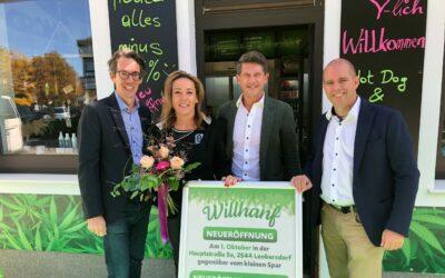CBD-Shop Willhanf eröffnet neue Filiale