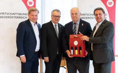 Peter Hopfeld zum neuen Landesvorsitzenden der NÖ Wirtschaftsbund Silberlöwen gewählt